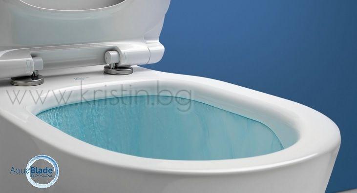 tesi aquablade t008701 ideal standard. Black Bedroom Furniture Sets. Home Design Ideas