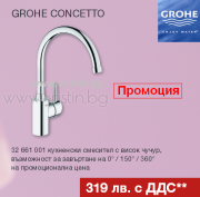 Смесител за кухня Grohe Concetto 32661001