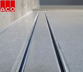 Линеен сифон  ACO Tile ,  ShowerDrain C, ф50 с хоризонтални фланци